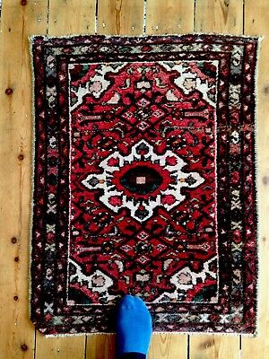 Antique Kilim Old Traditional Hand Made Oriental Veg Dyes