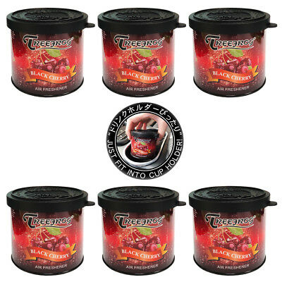 Treefrog Black Cherry scent 6 cans, Tree Frog car air freshener