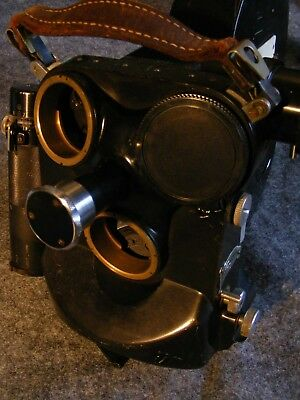 Eclair 35mm Camera with 3-lens Turret NIKON MOUNT