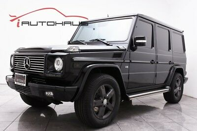 G-Class G 500 LOW MILES PREMIUM UPGRADES CARFAX CERTIFIED 2 OWNERS FULLY SERVICED