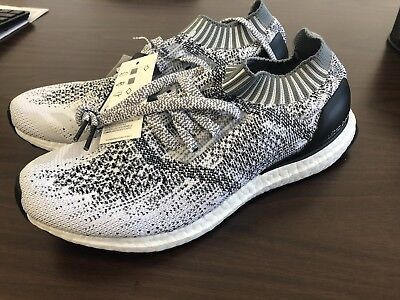 321c6a433 MEN S ADIDAS ULTRA Boost Uncaged Running Shoes CG4095 Size 8.5 Cloud White   Grey -  113.99