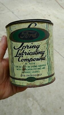 Vintage Quart Can Ford spring lubricating compound M-4628