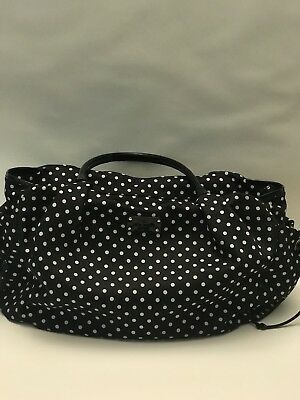 kate spade diaper bag, Black with white polka dots. FREE SHIPPING