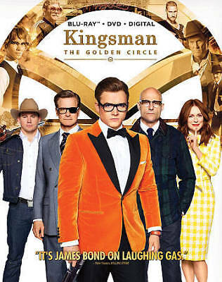 Kingsman: The Golden Circle (Blu Ray, DVD, Digital) Brand New