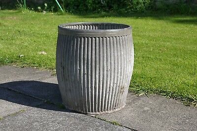 Dolly Tub. Made from Galvanised Steel