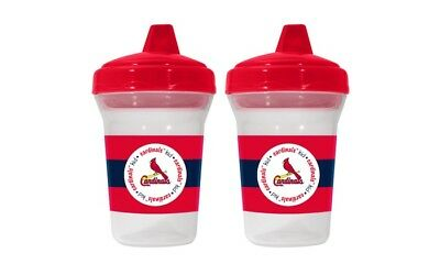 Fanatics Baby Fanatic St. Louis Cardinals Kids Sippy Cups, Multicolor, 2 Pack