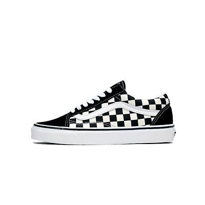 eded39827cd VANS - Old Skool Primary (Checkerboard Suede) Black   White VN0A38G1P0S  Shoes