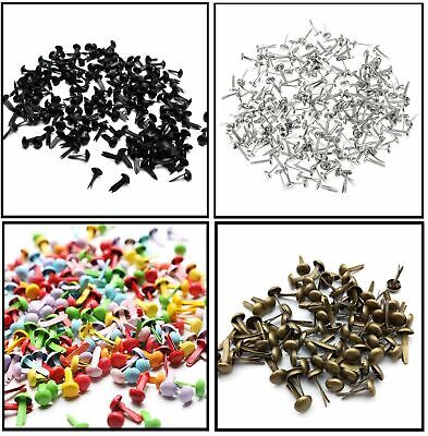 Multi  5 mm Brads Paper Fasteners Scrapbooking Split Pins Card Craft Clasps