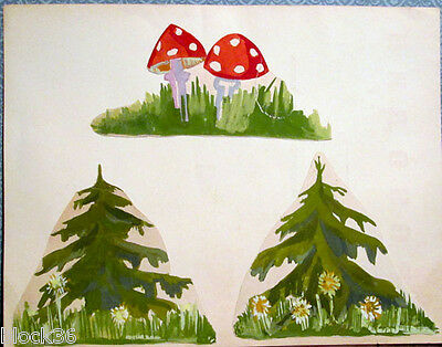 Illustrations to fairy tale (drawings) by Russian artist G.S.Solovyeva