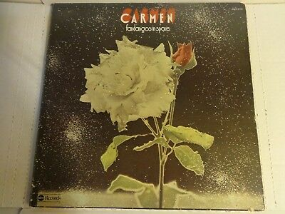 Ex. vinyl & cover~Carmen - Fandangos in Space(ABC Dunhill 50192) LP Record ('73)