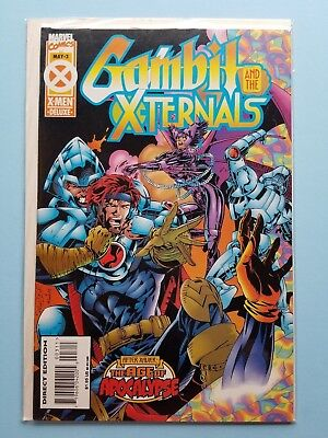 Gambit and The X-Ternals #3 VF/NM Marvel 1995 Age of Apocalypse Comic