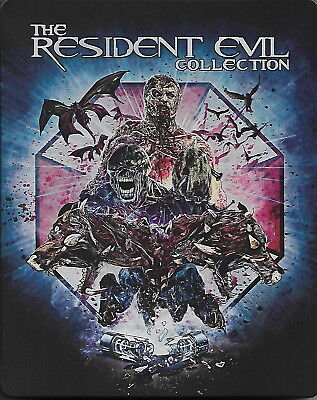 Resident Evil: The Complete Collection - Ltd. Ed. Steelbook [Blu-ray] New!!