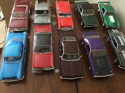 1/25 Built Model Car Lot