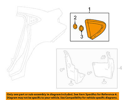 Chevrolet GM OEM 16-18 Cruze Exterior-Applique Left 84085222