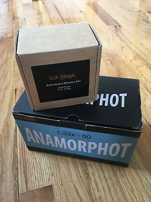 SLR Magic Anamorphot-50 1.33x Anamorphic Adapter WITH Diopter Set