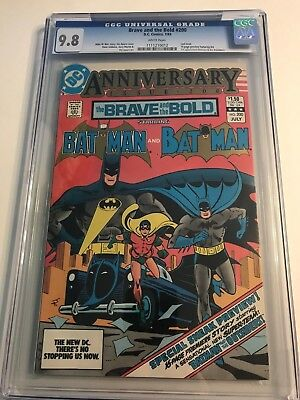 The Brave and the Bold #200 CGC 9.8 1st First Katana Outsiders Halo Geoforce