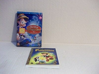 pinocchio dvd walt disney studios platinum edition 70th anniversary edition 2009
