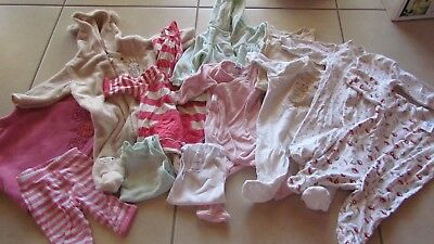 Bulk Baby Girls size 000 Winter clothes