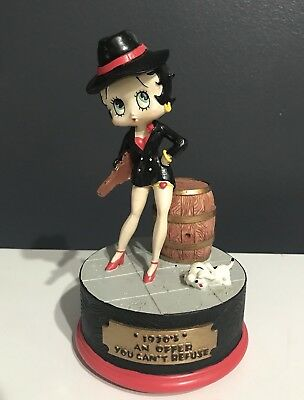 Vintage Rare Betty Boop 1930's Collectible Figurine Music Box Offer You Can't