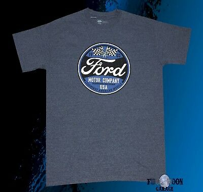 New Ford Motor Company USA Classic 1903 Men's Vintage T-Shirt