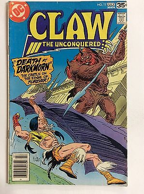 Claw The Unconquered #11 (DC Comics) Vol. 3 July 1978