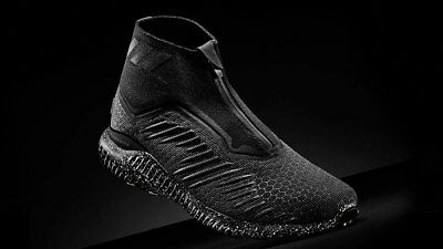 f2929e11400dc Adidas Alphabounce 5.8 Zip M Athletic Black Men s Shoes Training Running  Size 11