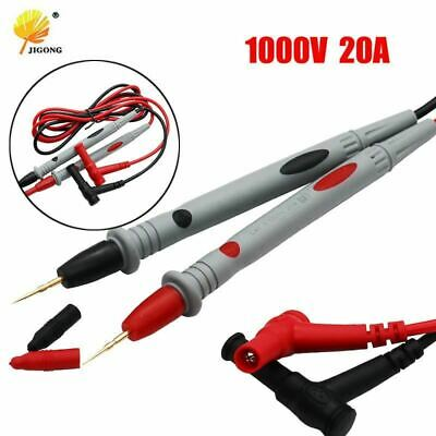 1 Pair Universal Probe Test Leads Pin for Digital Multimeter