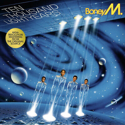 Boney M. 10.000 Lightyears vinyl LP NEW/SEALED