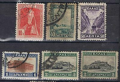 Greece 1927 Selection to 2dr  Used