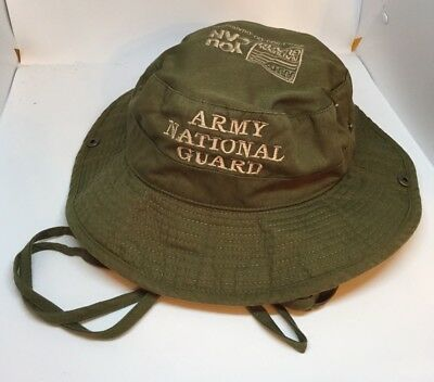 U.S. Army National Guard Green Boonie Hat Size Small (See Description)