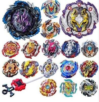BEYBLADE METAL FUSION MASTERS NEW ZERO-G/4D System+Power Launcher FREE Grip