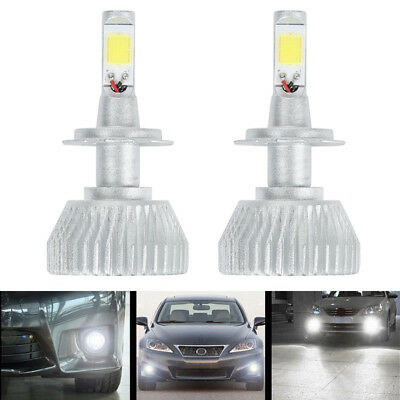 High Quality 60W H7 Led Headlight Bulbs Kit 6000K 6000Lm High/low Fog Lights Bm1