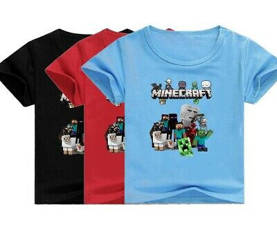 Minеcrаft 02 Kid's Unisex T Shirt AU Shop
