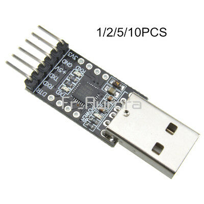 1/2/5/10PCS 6Pin USB 2.0 to TTL UART Module Converter CP2102 STC Replace FT232