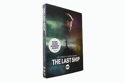 The Last Ship Season 4 Dvd - Brand New & Sealed + Free Priority Post & Tracking