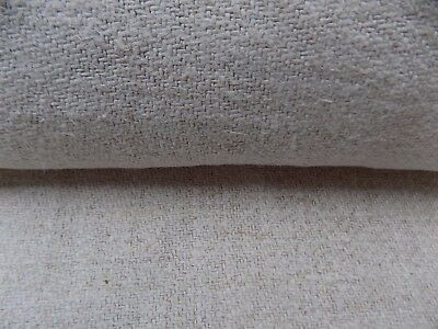 Antique Handwoven Heavy Hemp Fabric Rug runner 3,65x0,66m 19thC Great condition