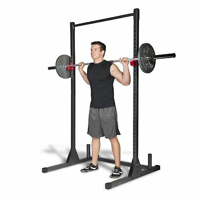 Rack à Squat Power Formation Levage Fitness Home Réglable Support Multifunction