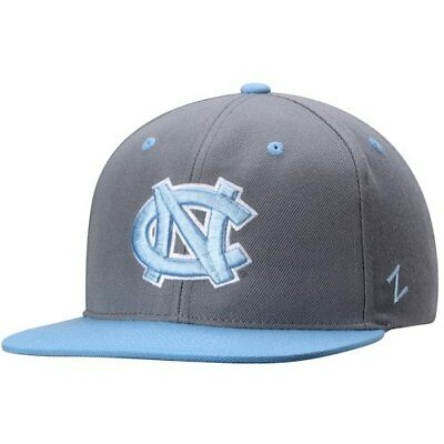 e5b205c1c00 Zephyr North Carolina Tar Heels Gray Carolina Blue Z11 Snapback Adjustable  Hat