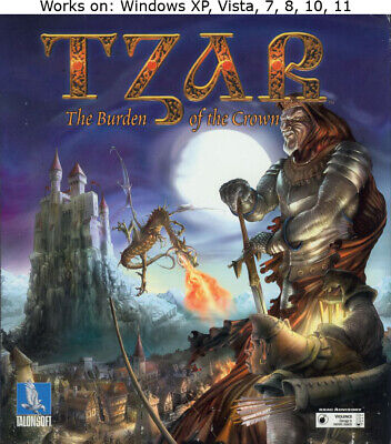 Tzar The Burden of the Crown PC Game Windows XP Vista 7 8 10