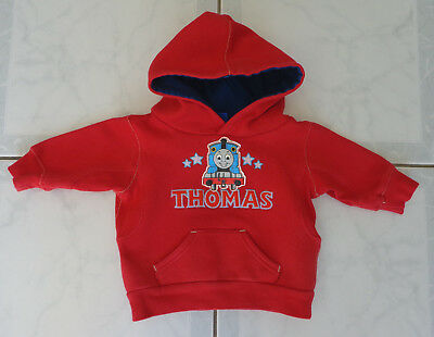Baby Boy's Red Thomas the Tank Engine Hoodie / Jumper - Size 00