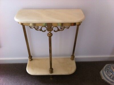 Marble Hall Table
