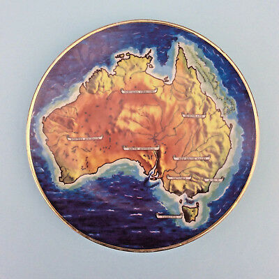 AUSTRALIA 1988 COLLECTORS 1ST YEAR PLATE Limited numbered edition Georg Persson