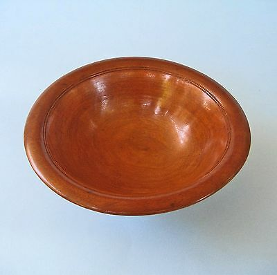 VINTAGE TURNED WOOD BOWL Small Australian Timber Treen Hand-Made