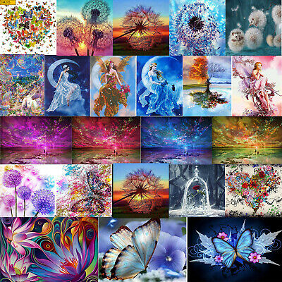 5D Diamond Painting DIY Diamant Kreuzstich Stickerei Malerei Bilder Stickpackung