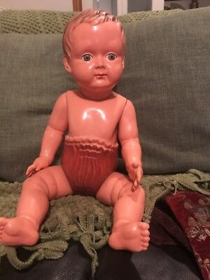 Celluloid Baby In Moulded Nappy Buy Or Cry Later If U Miss Out
