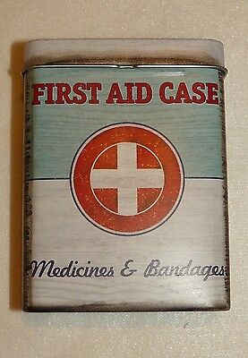 BLECHDOSE, Vintage Style, FIRST AID CASE