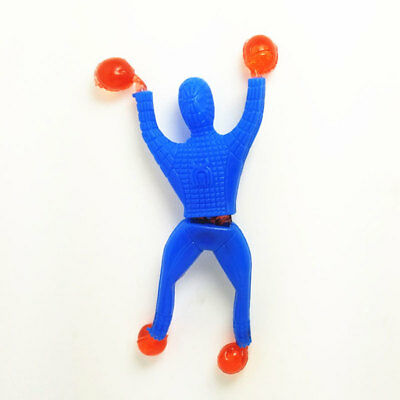 Climbing-Wall Super Man Toy Adhesive Kids Children Training Flexible Actions