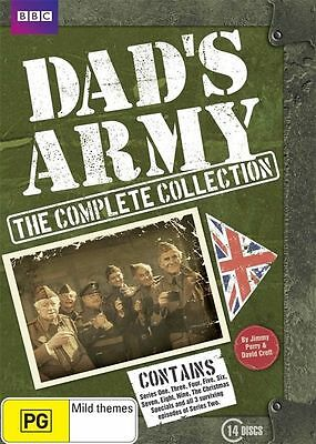 Dad's Army: Complete Collection Box Set (DVD, 2010, 14-Disc, Region 4) BBC NEW