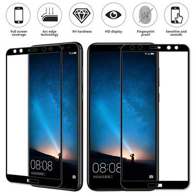 For Huawei P8 LITE P9 P10 Plus Full Cover Temper Glass Screen Protector Film NEW