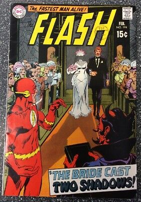 The Flash #194 (1970) 1st Bronze Age Issue